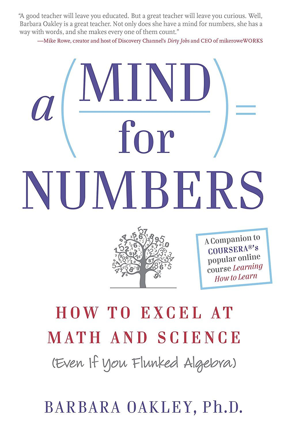 A Mind For Numbers | Barbara Oakley